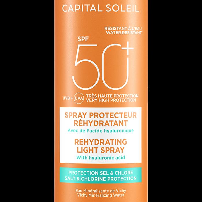 Beach Protect -Слънцезащитен спрей против дехидратация- SPF 50+