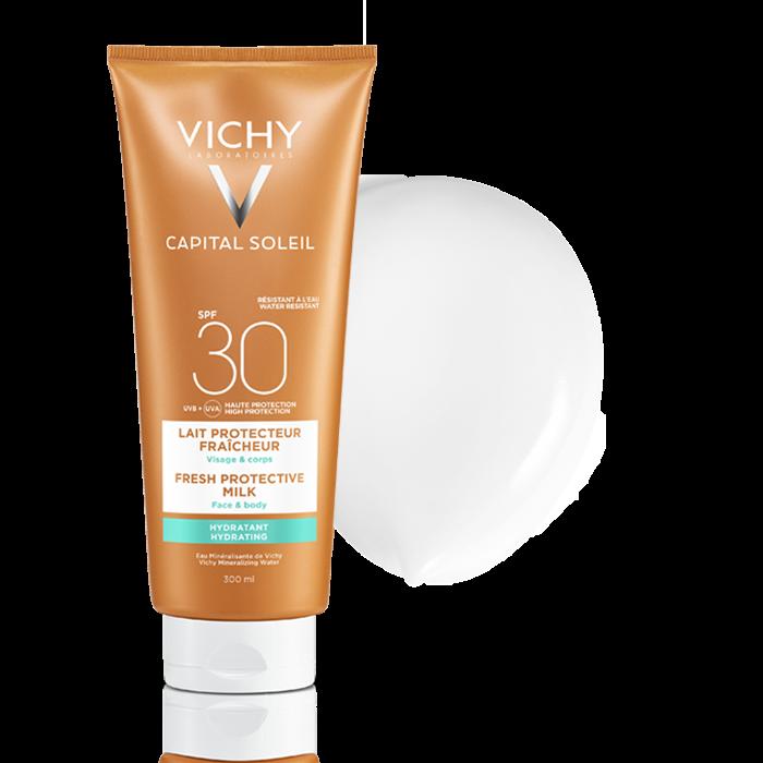 Beach Protect -Слънцезащитно мляко-Лице и тяло- SPF 30