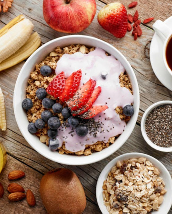 Изберете зареждаща с енергия закуска