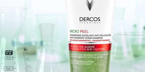Какво причинява пърхот? Борба със себореята с Dercos Micro-Peel